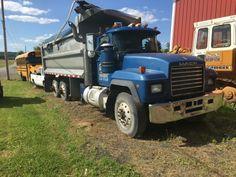 tri axle 2000 Mack truck for sale Mack Trucks For Sale, Mack Dump Truck, Equipment Trailers
