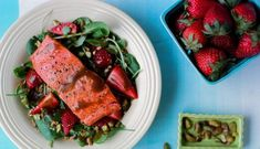Best Salmon Balsamic with Strawberries RecipeThis easy salmon balsamic with strawberries recipe makes a great seafood dinner, especially if you are looking for a quick meal. Keep in mind that the best prices on strawberries ar...