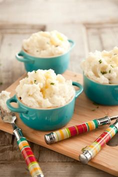 Step 3 in a celebrity chef worthy Thanksgiving dinner: Paula Deen's Garlic Mashed Potatoes Recipe