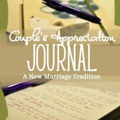 Couples Journal {Relationships}