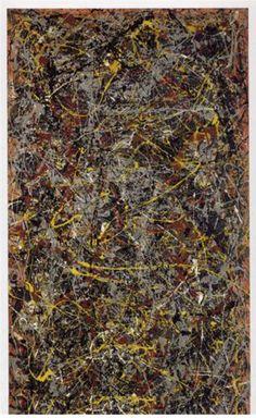 "Jackson Pollock ""number 5"""