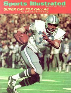 January 24 1972 Sports Illustrated Cover Football Super Bowl VI Dallas Cowboys Duane Thomas in action rushing vs Miami Dolphins New Orleans LA. Dallas Cowboys Images, Dallas Cowboys Players, Super Bowl, Sports Magazine Covers, Tony Dorsett, Si Cover, Sports Illustrated Covers, How Bout Them Cowboys, Skinny