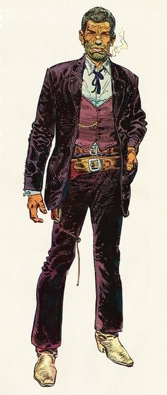 Blueberry by Jean Giraud