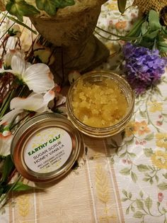 Check out this item in my Etsy shop https://www.etsy.com/listing/487226721/organic-sugar-scrub-honey-vanilla