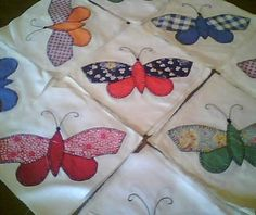 vintage butterfly quilt pattern