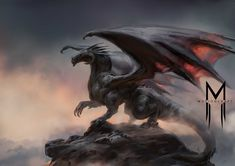 ArtStation - Black dragon, Motioncraftco Studio