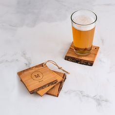 Awesome Personalized #Wedding Favours Your Guests Will Love - Check out these wooden coasters here http://www.theweddingguru.ca/awesome-personalized-wedding-favours-your-guests-will-love/ #weddingfavor #weddingfavour