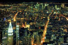 City Lights by Jörg Dickmann, via Flickr