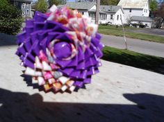 A ducttape flower pen I made