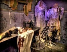 Gothic Romance Reviews: Day 8 of Halloween: The Haunted Tour of Rose Mansion