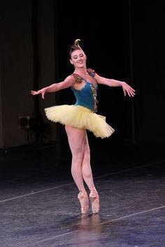 Tiler Peck | NYCB Principal dancer | George Balanchine's Stars and Stripes | ©Lindsay Thomas