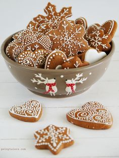 "Miękkie pierniczki na ostatnią chwilę, czyli pierniczki ""last minute"" Cookies And Cream Cheesecake, Best Christmas Recipes, Simply Recipes, Food Cakes, I Love Food, Sugar Cookies, Gingerbread Cookies, Cake Recipes, Sweet Tooth"