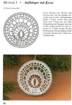 """Рождественские мотивы"" Bobbin Lace Patterns, Loom Patterns, Hairpin Lace Crochet, Crochet Edgings, Crochet Motif, Crochet Shawl, Polly Polly, Bobbin Lacemaking, Lace Jewelry"