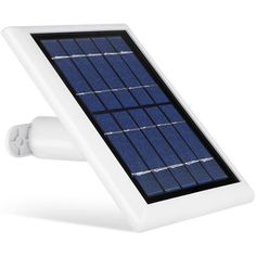 Solar Panel for Logitech Circle Power Your Home Security Camera Continuously with Our Solar Charger – by Wasserstein (White) - Fantastic Device for Your Home Solar Power Panels, Solar Panels For Home, Solar Panel System, Panel Systems, Landscape Arquitecture, Ring Video Doorbell, Outdoor Camera, Solar Charger, Security Cameras For Home