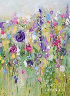 Spring Meadow I Print