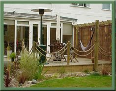 Fun idea for rails on a low deck...Google Image Result for http://topdeck.uk.com/decking-images/multi-purpose-deck.jpg