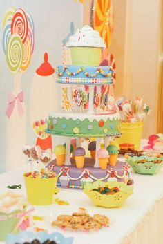 Candyland Birthday Party Ideas | Photo 1 of 19 | Catch My Party