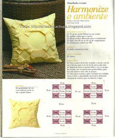 Artes by Cachopa: Harmonize o ambiente com essa almofada creme