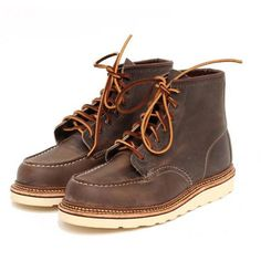Red Wing Moc Toe | Concrete 8883