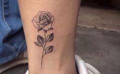 Tattoo de rosa