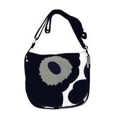 Marimekko Mini Amapola Black Purse $119.00