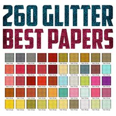260 Glitter Best Scrapbook Digital Papers
