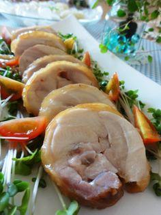レンジで簡単♪鶏肉チャーシュー。   美肌レシピ