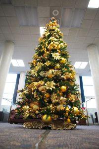 Elegant Christmas Tree Decorating Ideas Gold