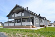 Älvsbytalon suosittu Suometar-talomalli, 2 h+k+s, 81 m² + yläkerta 38 m²-51 m².