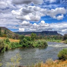 Another beautiful section of the Rogue River and Table Rock