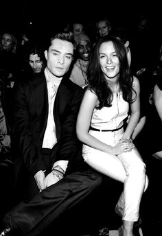 Ed & Leighton. They are so freaking cute together, I can't stand it.