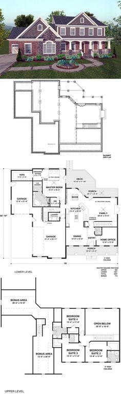 Craftsman House Plans - House Plan 92392