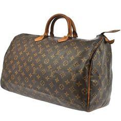 Louis Vuitton Speedy 40 Brown Bag - Satchel $539