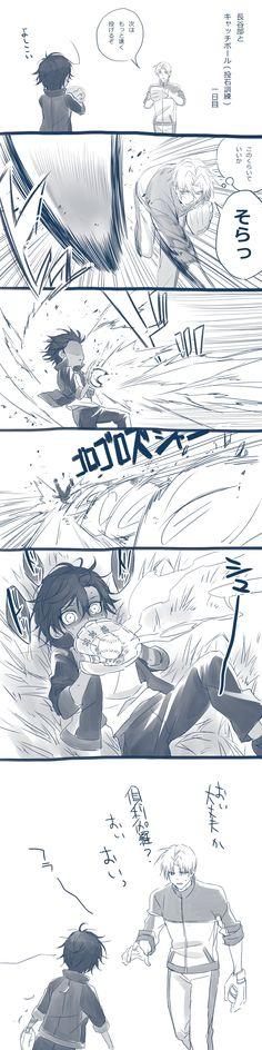 Tags: Comic, Touken Ranbu, Ookurikara, Heshikiri Hasebe