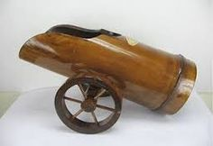 Resultado de imagem para bamboo handicrafts in the philippines Bamboo Architecture, Bamboo Crafts, Cannon, Handicraft, Philippines, Mandala, Projects To Try, Woodworking, Metal