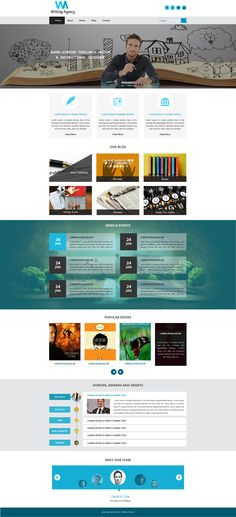 Sell365's Writing Agency Template. One of the best Website Builder in India. Design and customize your own website with our free website templates.