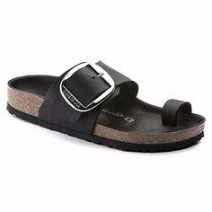 b87f39629fa5 Birkenstock Leather MIRAMAR Big Buckle Comfy Shoes