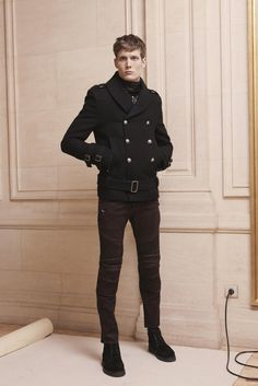 mm.. Felix Gesnouin, another Balmain favorite (other being Janis Ancens). Balmain Men's RTW Fall 2013 - Slideshow - Runway, Fashion Week, Reviews and Slideshows - WWD.com