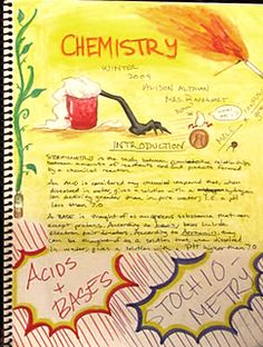 love the art of waldorf lesson books Waldorf Curriculum, Waldorf Education, Eighth Grade, Seventh Grade, 11th Chemistry, Earth School, Chalkboard Drawings, High School Classroom, Classroom Crafts
