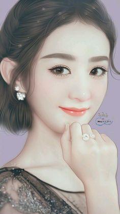 Perfectly made Beautiful Anime Girl, Beautiful Girl Image, Korean Art, Asian Art, Girl 3d, Japanese Drawings, Korean Beauty Girls, Kpop Drawings, Unicorn Art