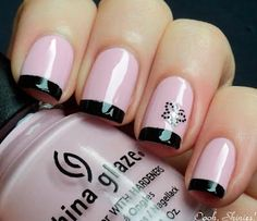 30 Thrilling French Tip Mani Designs You'll Love - Hairstyles, Nail Art, Beauty and Fashion