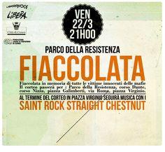22 marzo a Cuneo fiaccolata in memoria delle vittime di tutte le mafie