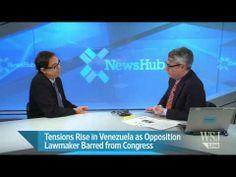 Tensions Rise in Venezuela as Machado Is Barred
