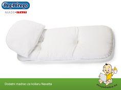 Stvorite potpunu udobnost bebi dodatnim madracem za Peg Perego košaru Navetta Peg Perego, Bed Pillows, Pillow Cases, Pillows