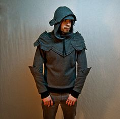 Grey Knight Armored Hoodie.