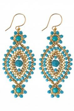 coral and turquoise jewelry gold set - Pesquisa Google