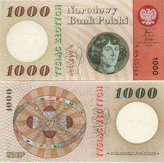 Poland  1000 Zlotych 29.10.1965 (Copernicus, Zodiac)