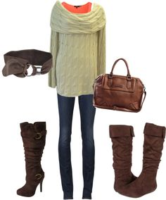 """""""comfy sweater"""" by nicseb23 on Polyvore"""