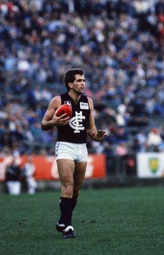 Wayne Johnston - 209 matches (Photo: AFL Photos)