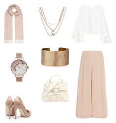 """soft-colour"" by fashionforhijab on Polyvore featuring TIBI, MANGO, Weekend Max Mara, Rupert Sanderson, Roger Vivier, Olivia Burton, Vera Bradley and Panacea"